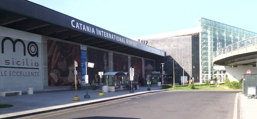 Летище Катаня